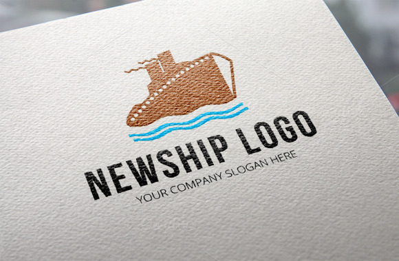 New Ship Logo Template