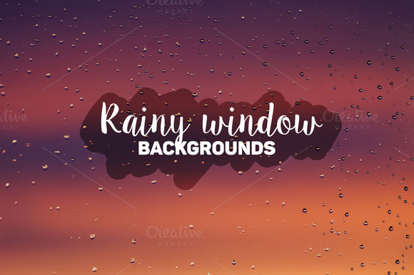 Rainy Window Backgrounds