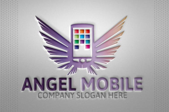 Angel Mobile Logo