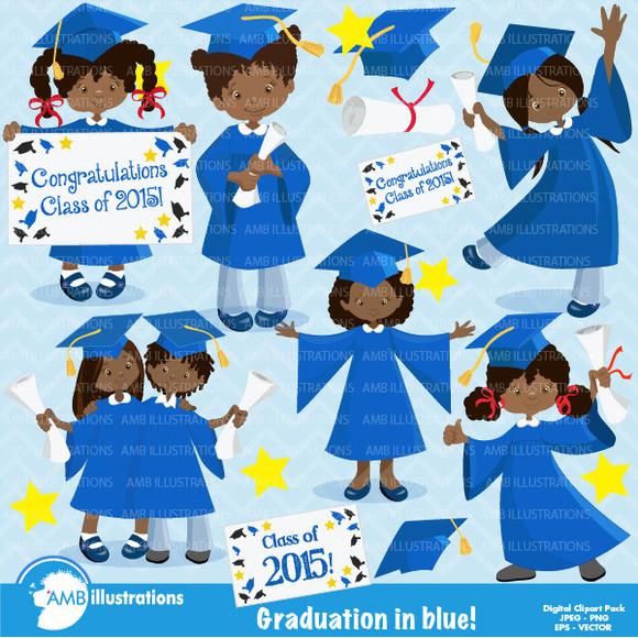 Graduation African American 872