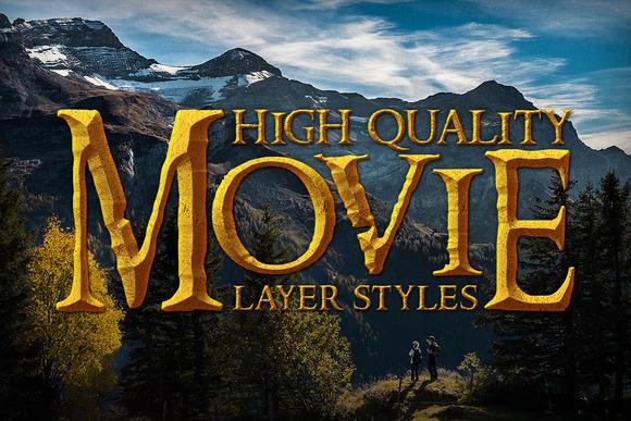 20 Popular Movie Layer Styles