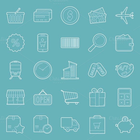 Sales Icons Set