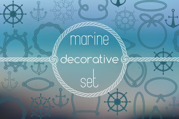 Marine Decorative Set