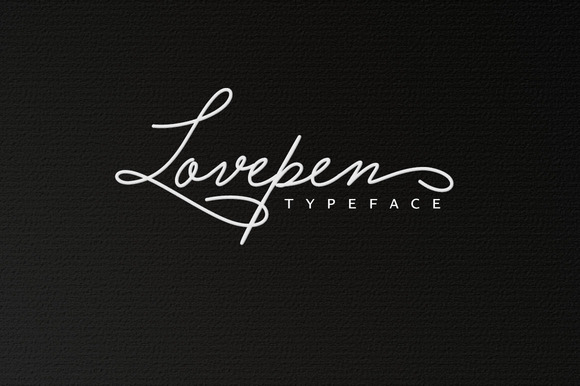 Lovepen Typeface