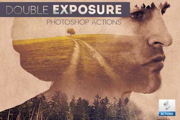 Double Exposure Photoshop Creator