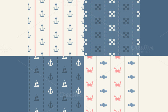 Seamless Sea Patterns