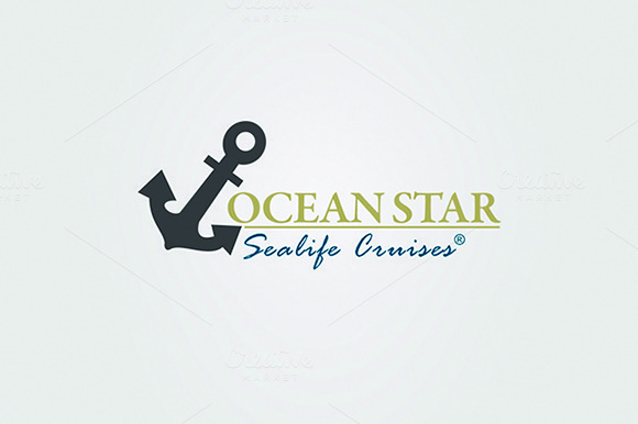 Ocean Travel And Cruise Logo Vol.02