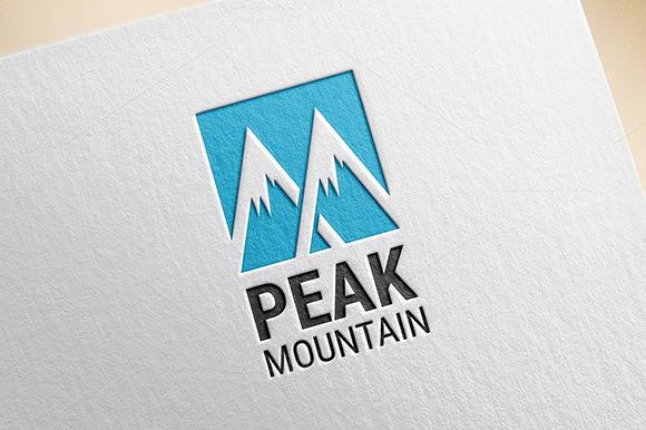 Peak Mountain Logo