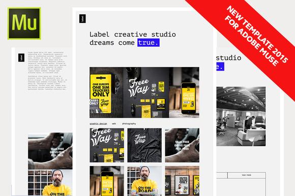 Label Portfolio Multipurpose Muse