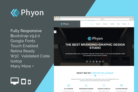 Phyon HTML5 Responsive Template