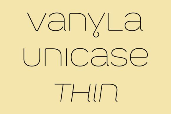 Vanyla 4F Unicase Thin