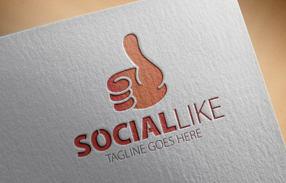 Social Like Logo