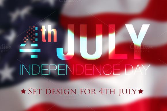 Set Design For 4th July