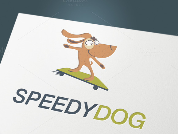 Logo Speedy Dog