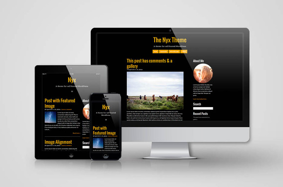 Responsive WordPress Theme Nyx