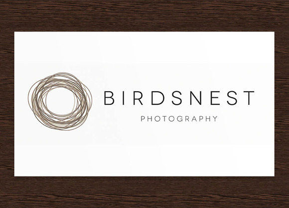 Birdsnest Photography Logo PSD