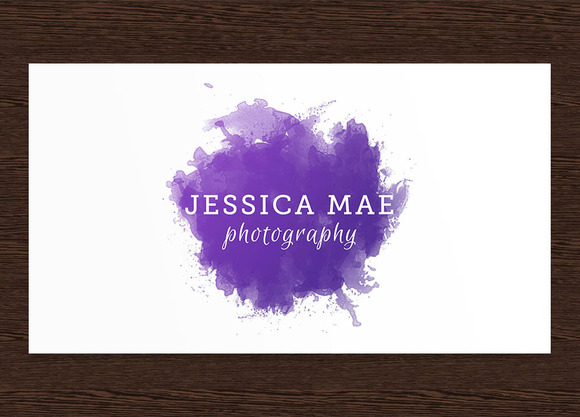 Jessica Mae Photography Logo PSD