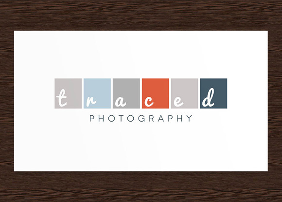 Traced Photography Logo PSD