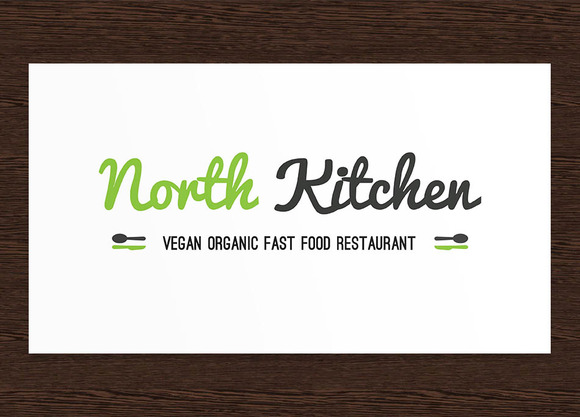 North Kitchen Restaurant Logo PSD