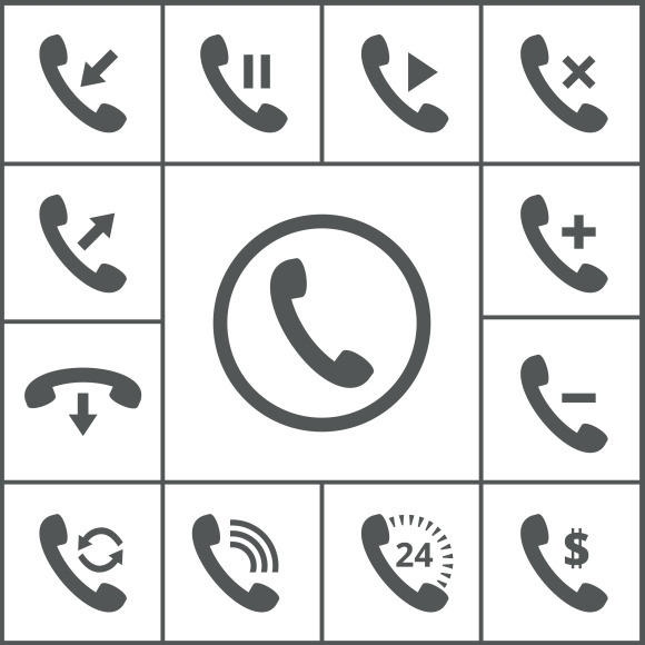 Handset Icons