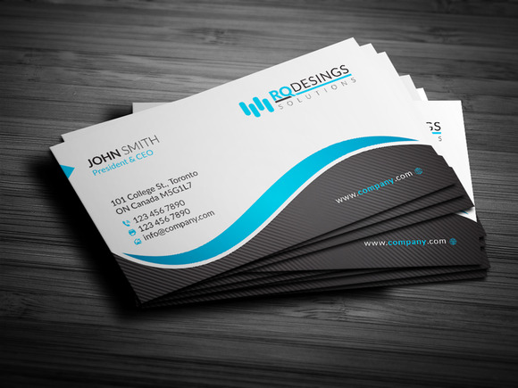 Corporate Business Card 12