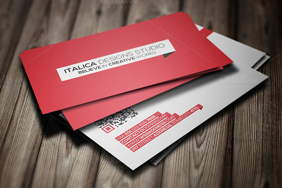 Sleek Business Card Template