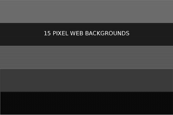 15 Pixel Web Backgrounds