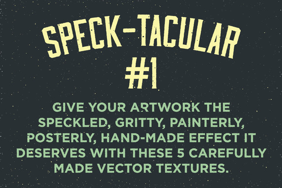 Speck-tacular #1