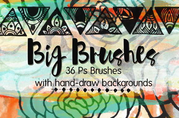 36 Big Photoshop Brushes