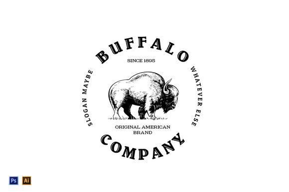 Buffalo Vintage Logo