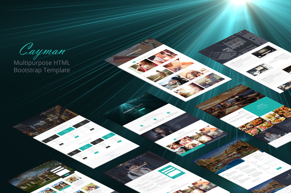 Cayman HTML Bootstrap Theme