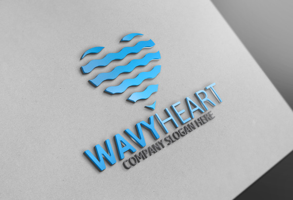 Heart Logo Template