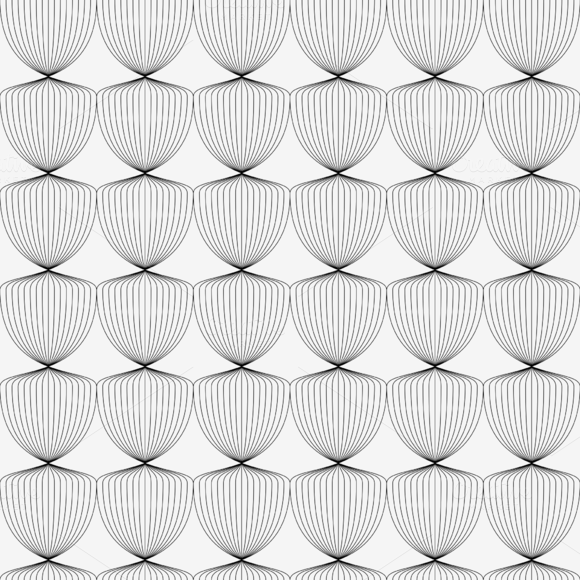 Wavy Pattern Background Vector