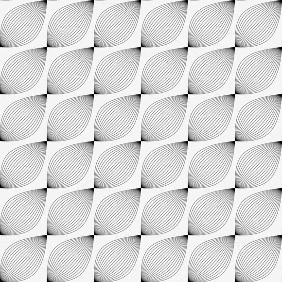 Wavy Pattern Background Vector
