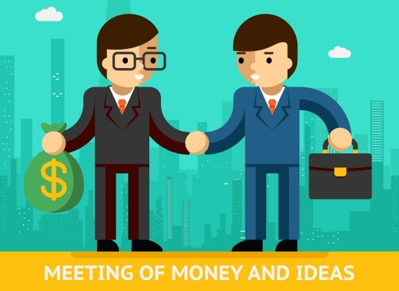 Meeting Of Money And Ideas