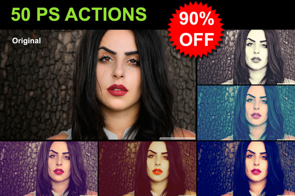 50 PS Actions MEGA SALE