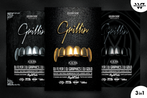 GRILLIN Flyer Template