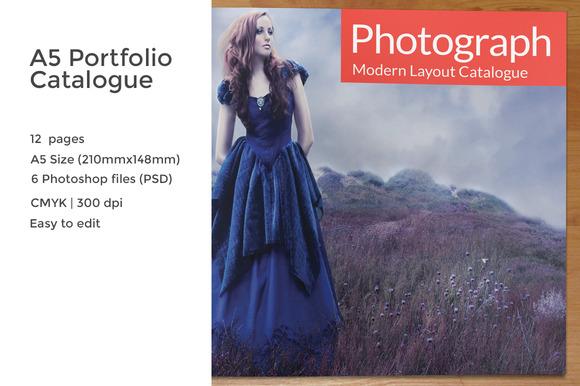 A5 Portfolio Catalogue