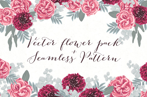 Vector Flower DIY Pack Pattern