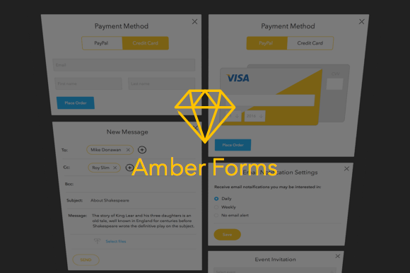 Amber Forms Sketch App