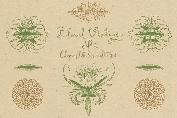 Floral Vintage Ўн2