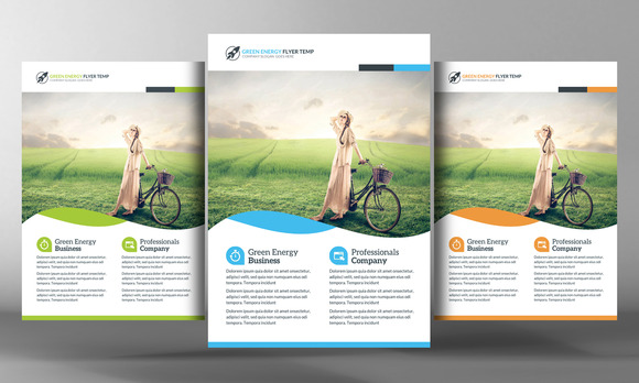 Green Energy Flyer Template