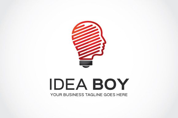 Idea Boy Logo Template