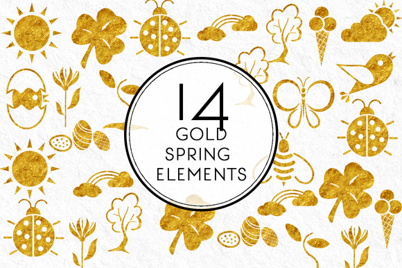 Gold Spring Elements