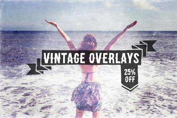 Vintage Overlays Pack