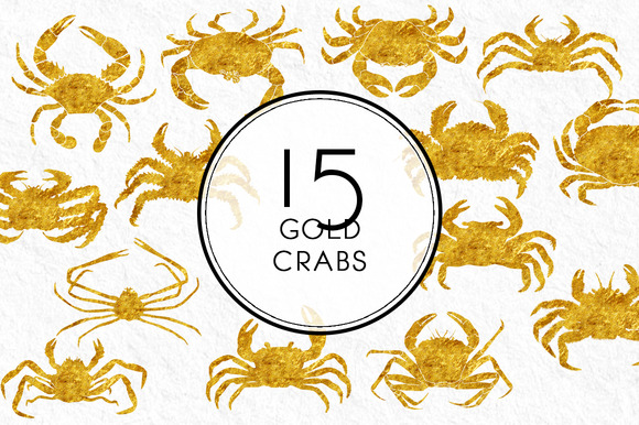 Gold Crabs