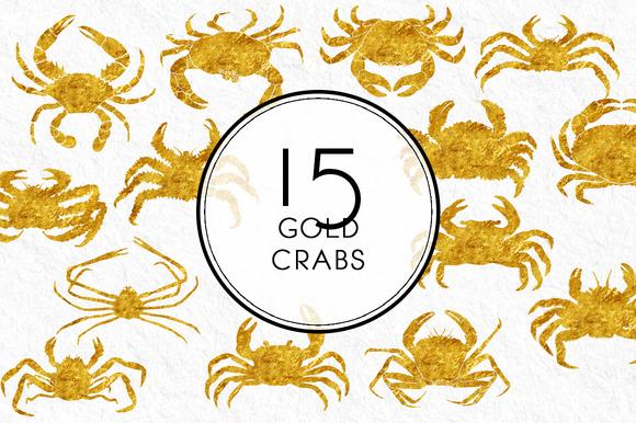 Gold Crabs