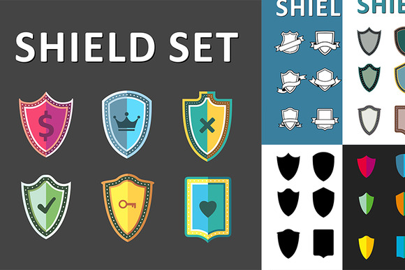 Vector Shield Set