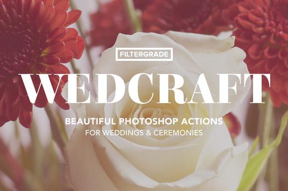 Wedcraft Wedding Photoshop Actions