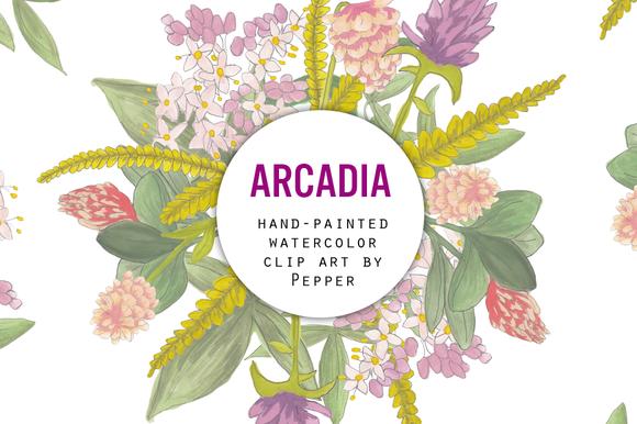 Spring Wildflower Clip Art
